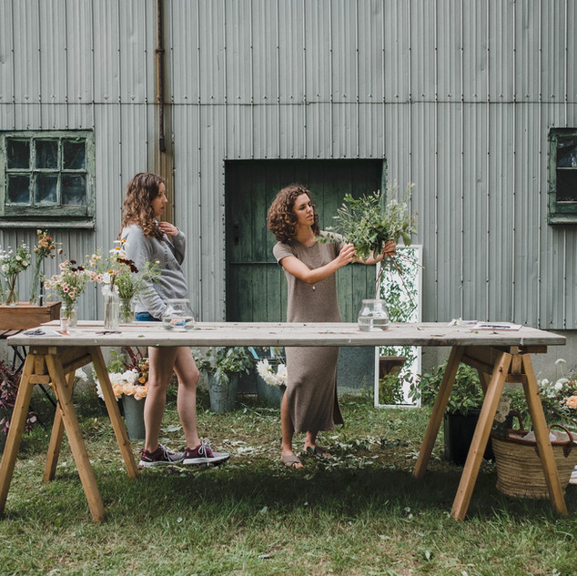 Private workshop | Photo by Jenny Thompson