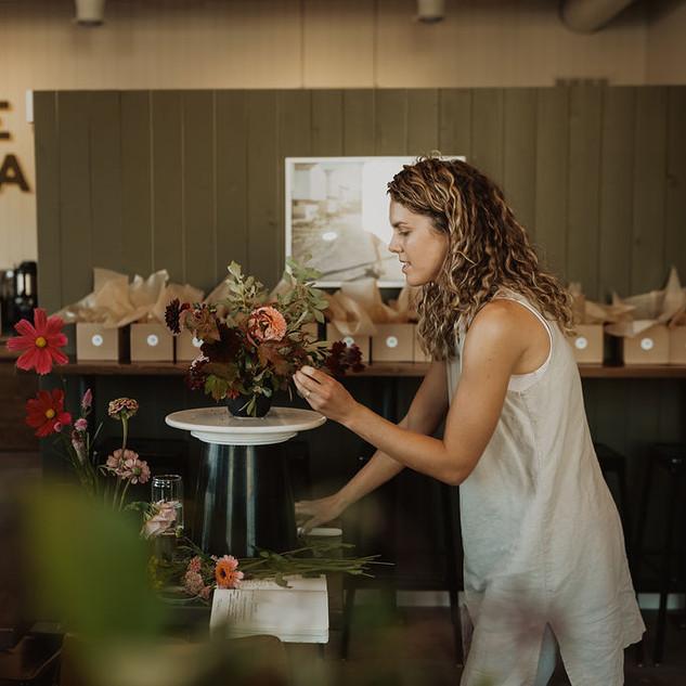 Arrangement workshop | Photo by Iannone Photography