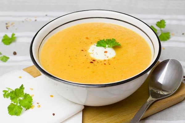 zupa marchewkowa imbir