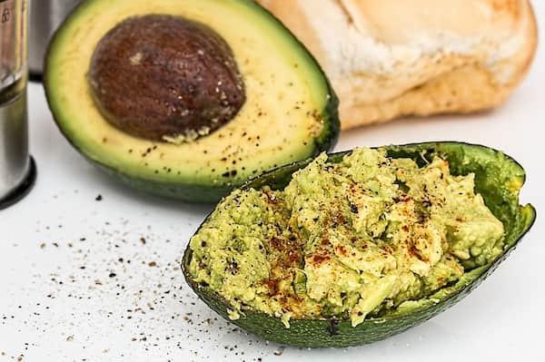 zdrowe jedzenie, awokado