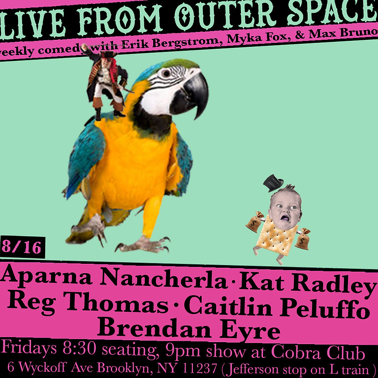 Live From Outer Space 8/16