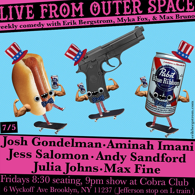 Live From Outer Space with Josh Gondelman, Aminah Imani, Jess Salomon, +