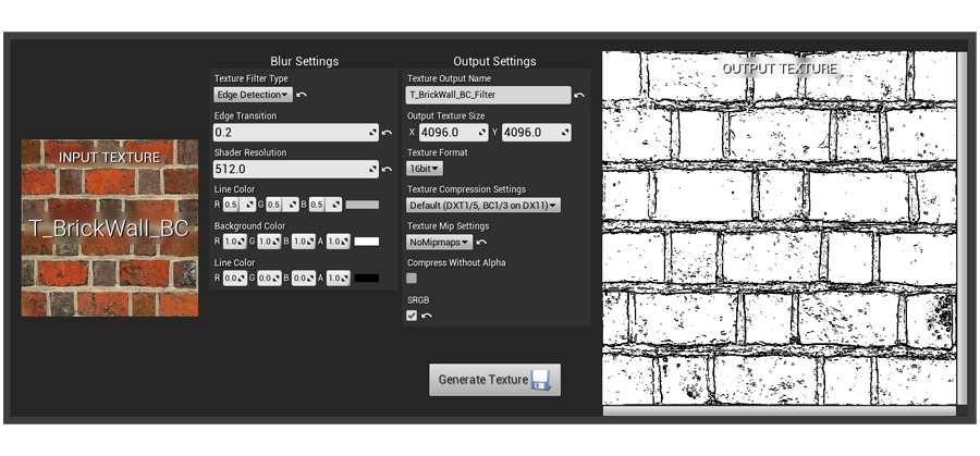 TEXTURE FILTERS