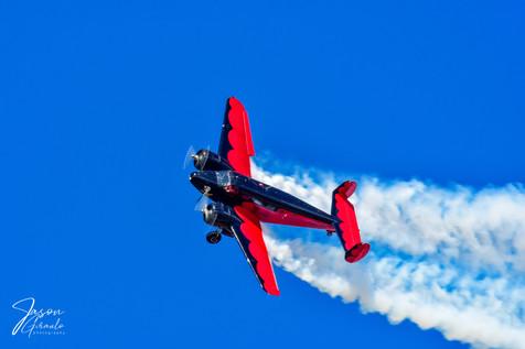 Historic twin engine aircraft