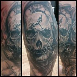 scarecrow skull