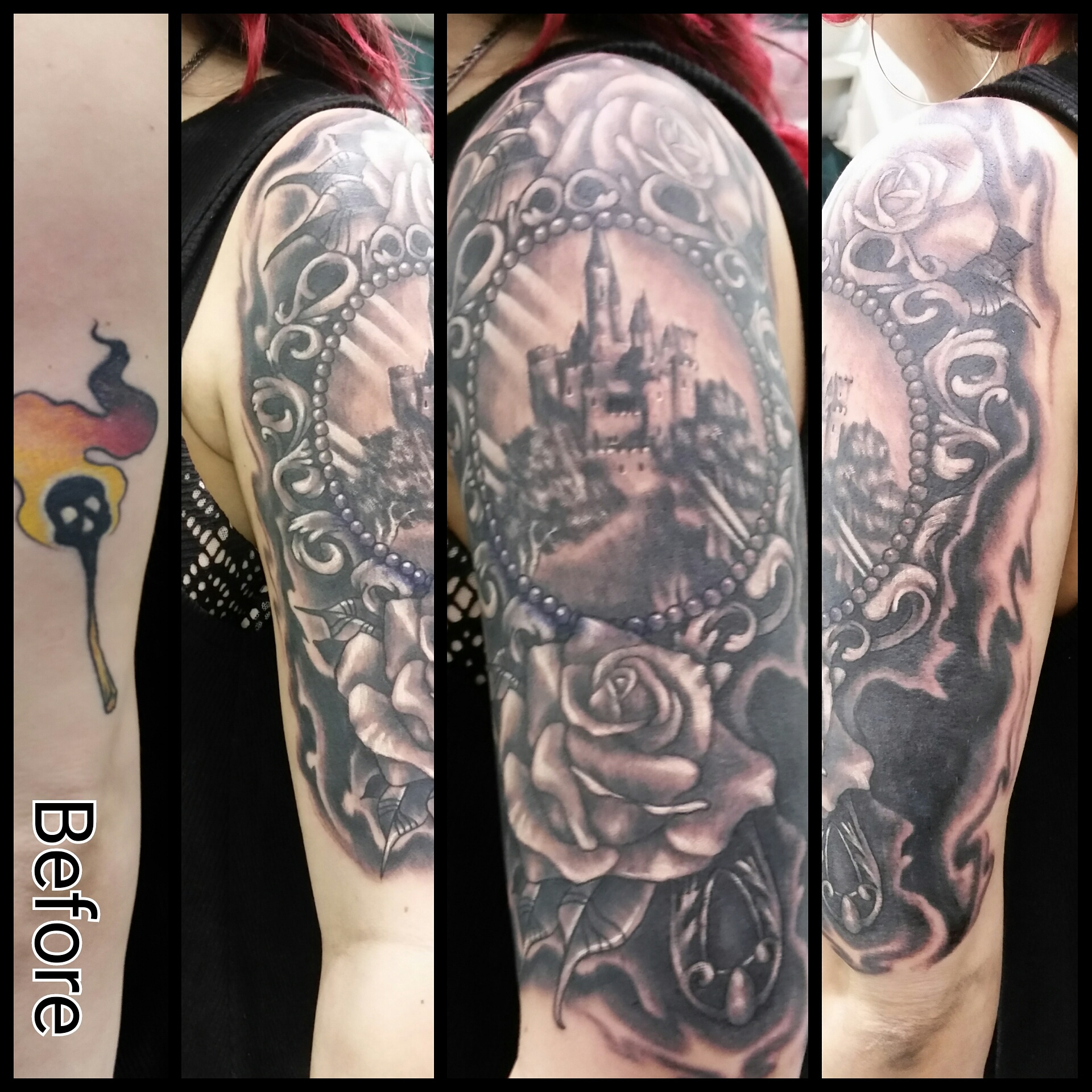 Hand Mirror cover-up
