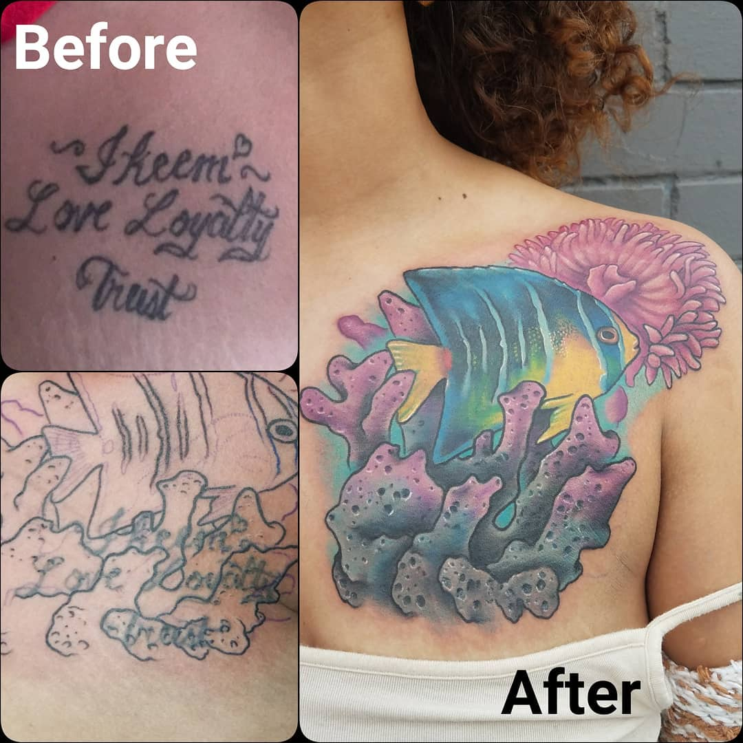 Saltwater cover-up