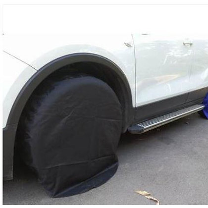 WHEEL COVER [ 4PCS PER PACK , prevent dirt and animal attack ]