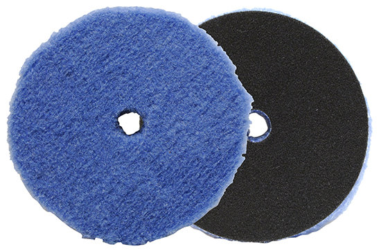 LAKE COUNTRY FORCE HYBRID WOOL CUTTING PAD [ 6.25 INCH ]