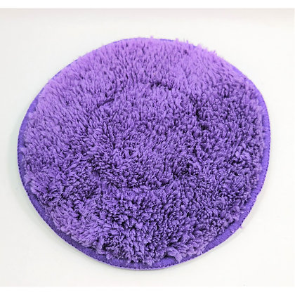 ANTIRAIN MICROFIBER APPLICATOR PAD  [ USE FOR WAXING ,  124MM  SIZE ]