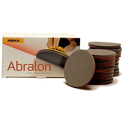 MIRKA ABRALON SANDING PAD [ USE FOR HEADLIGHT OXIDATION REMOVE , CAR BODY WATER