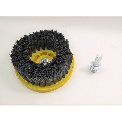CARPET & CAR SEAT BRUSH  [ DRILL ATTACHMENT & M14 POLISHER USABLE ]