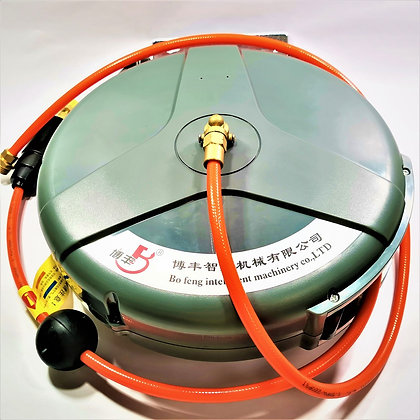 AUTOMATIC RETRACTION RECOVERY PIPE REEL WATER PAIP DRUM