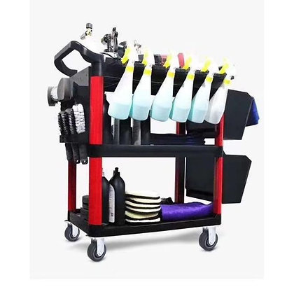 Detailing Tool Cart With Hanger ( Trolley)