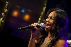 Sängerin mit Liveband, Eventband