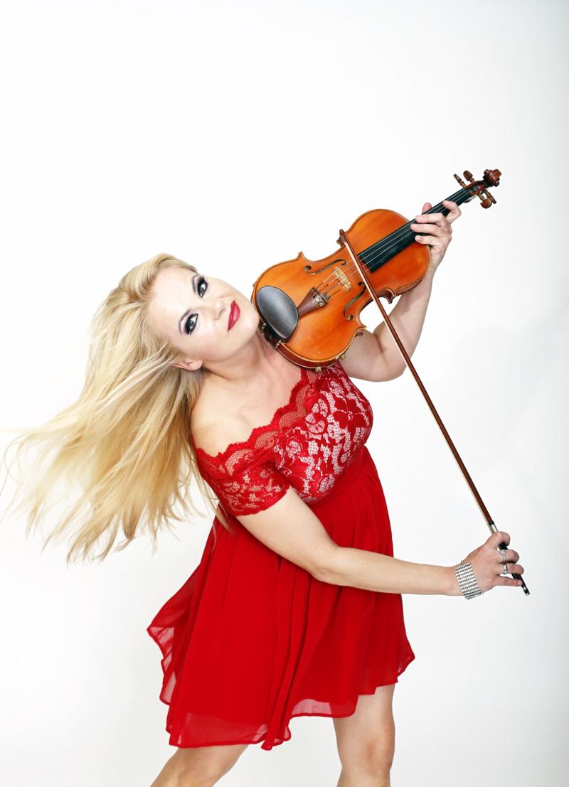 Violine Show mit DJ