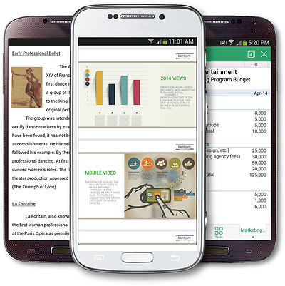 Kingsoft Office Mobile Android, WPS Office Android