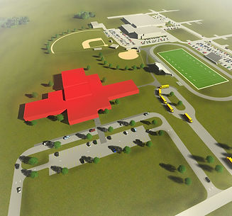 Okoboji Middle School Site Rendering