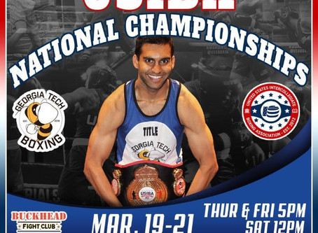 USIBA Collegiate National Championships  Hosted By Buckhead Fight Club  & Georgia Tech Boxing Club!