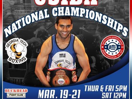 USIBA Collegiate National Championships  Hosted By Buckhead Fight Club  & Georgia Tech Boxing Club!