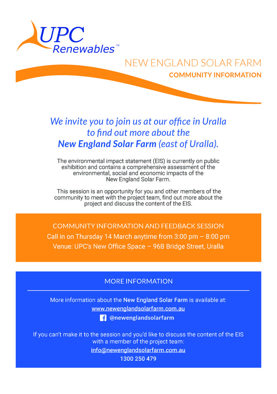 Community Drop in Session at our New Office!