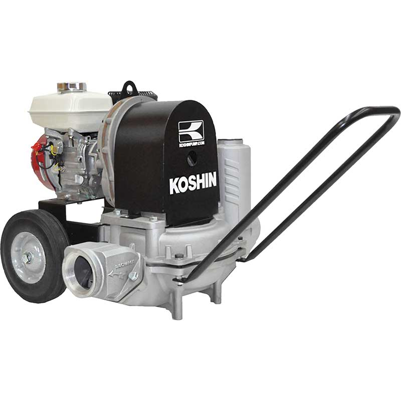 KDP50X - Koshin 2'' Diaphragm Pump Honda GX120 Gas Engine