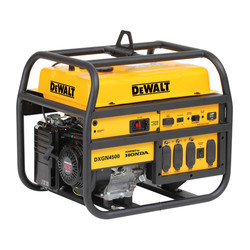 DXGN4500 DeWalt 4500 Watt Professional Generator Honda GX270 Gas Engine