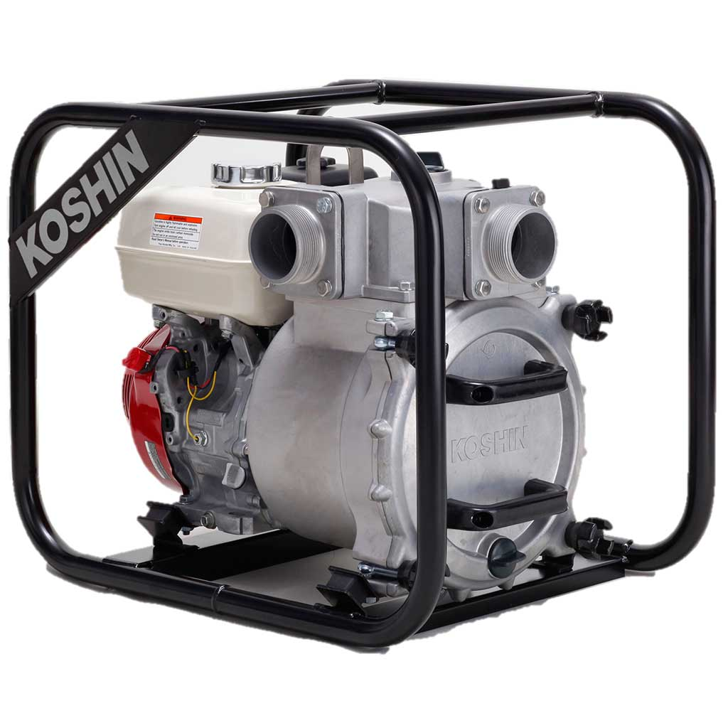 KTH80S - Koshin 3'' Trash Pump Honda GX270 Gas Engine
