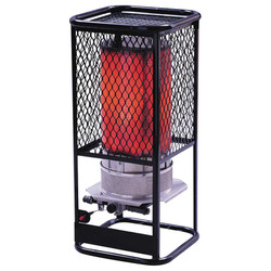 HS125N Portable Natural Gas Radiant Heater, 125,000 BTU Hr.
