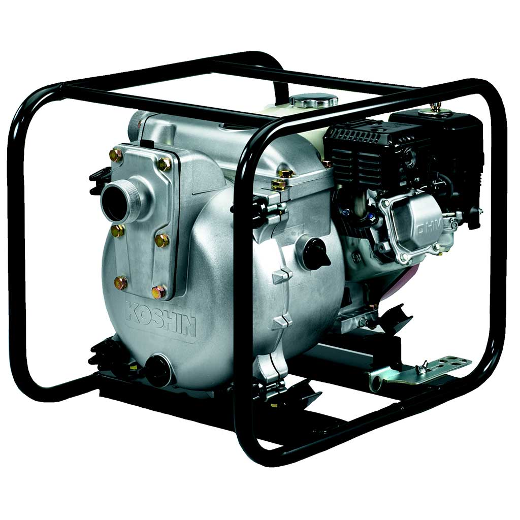 KTH50X - Koshin 2'' Trash Pump Honda GX160 Gas Engine