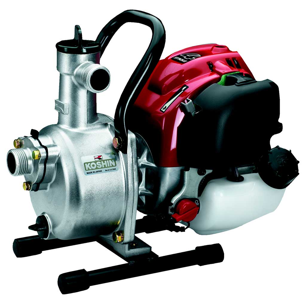 SEH25L - Koshin 1'' Clear Water Pump Honda GX25 Gas Engine