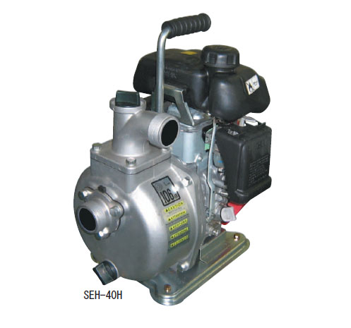 SEH40H - Koshin 1'' Water Pump Honda GXH50 Gas Engine