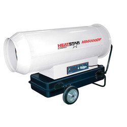 HS6000DF Direct-Fired, Forced Air Diesel Heater, 610,000 BTU Hr.