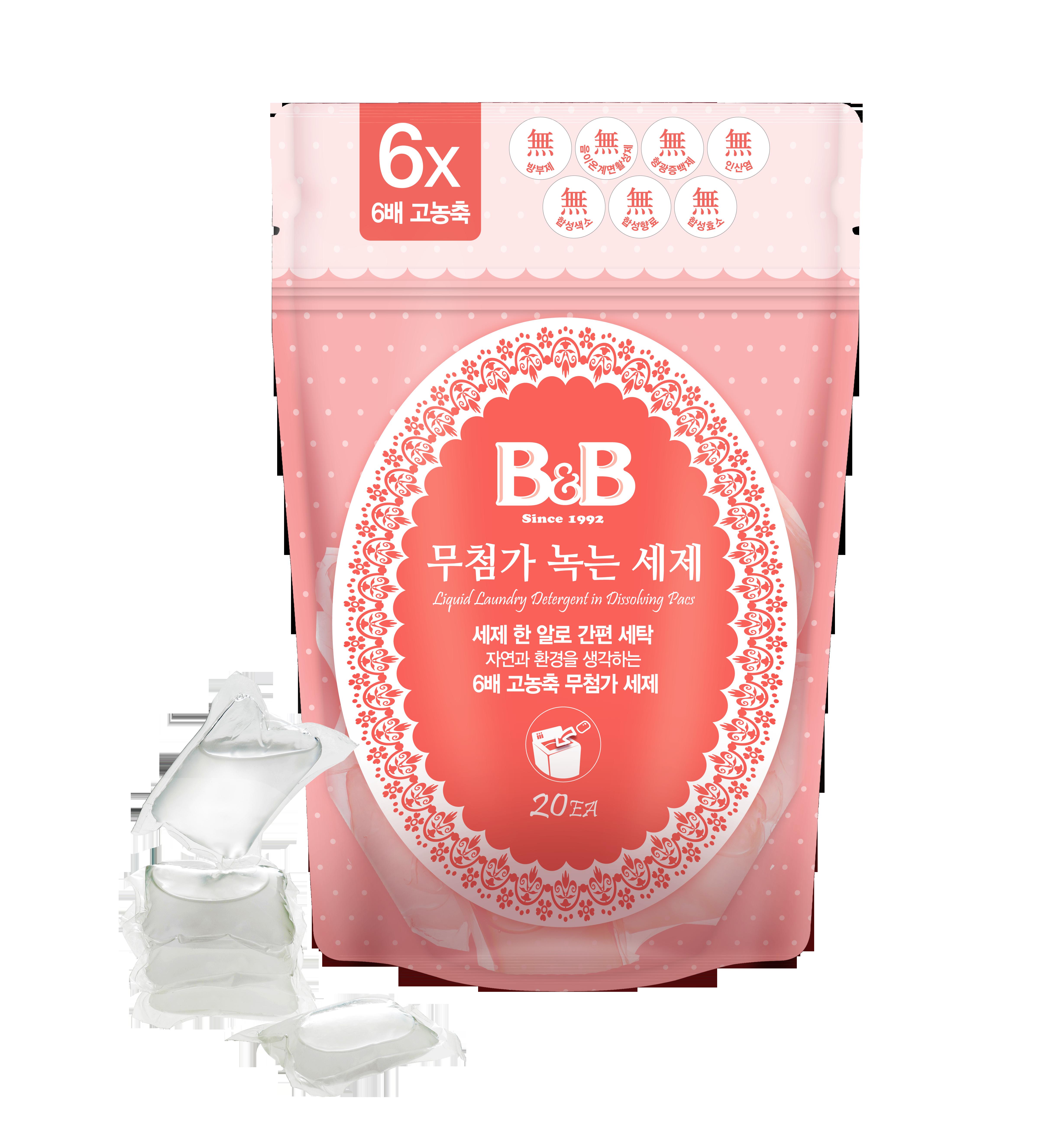 B&B Laundry Detergent Pack