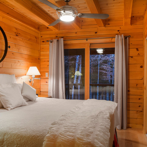 Log Home Guest Room