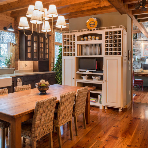 Chef's Kitchen with Full Bar and Butler's Pantry