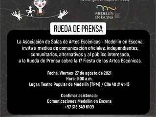 17 Fiesta de las Artes Escénicas – Medellín