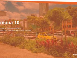 Ideas de proyecto de la comuna 10, para el Plan de Desarrollo