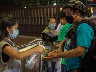 Las terminales de transporte de Medellín garantizan el cumplimiento de los protocolos