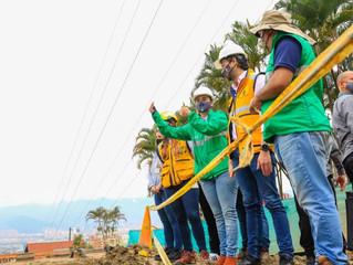 Un nuevo túnel minero se construirá para desviar la quebrada El Indio en el sector de Las Palmas