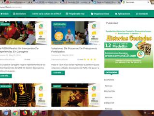 Qué pasa con www.comuna10.com