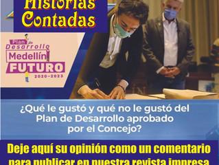 Aprobado el Plan de Desarrollo de Medellín (2020-2023)