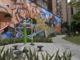 Renovado parque en el barrio El Chagualo