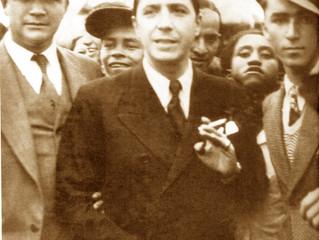 Carlos Gardel y Carlos Julio Ramírez