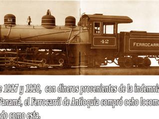 Breve historia del Ferrocarril de Antioquia
