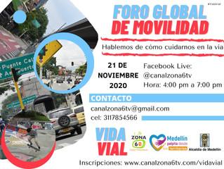 """""""Vida Vial"""" es la nueva propuesta de movilización vial del Canal Zona 6 TV para Medellín"""