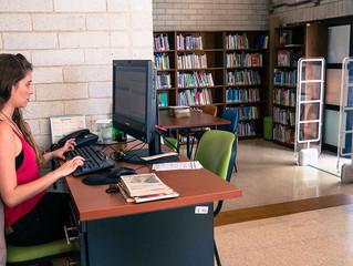 Conexión virtual bibliotecaria