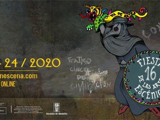16° Fiesta de las Artes Escénicas de Medellín ¡Resistiendo el arte!