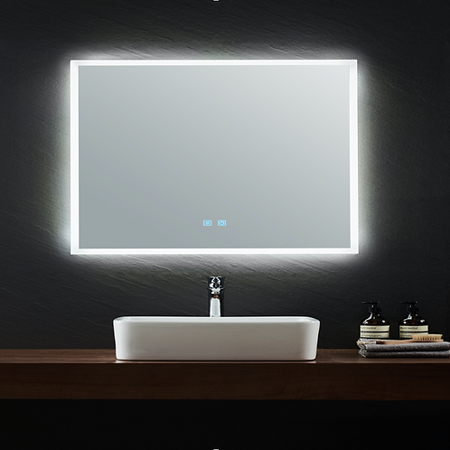 LED Frameless Mirror | Demister | 900*750
