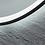 Thumbnail: Black Framed LED Round Mirror | Demister | 800*800